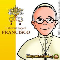 Papa Francisco desenho...I love this!