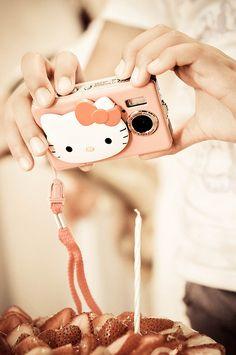 Hello Kitty Camera - the ultimate flashy box