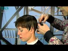 I'll get a ultra-short Bowl-hairstyle and blonde color! Chantal by T. Page Haircut, Bowl Cut Hair, Short Hair Cuts, Short Hair Styles, Edgy Short Haircuts, Blonde Color, Youtube, Pixie, Bowls