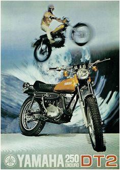Yamaha Brochure DT2 1972 250 Enduro Sales Catalog Catalogue Repro | eBay