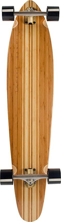0df56fe45008 JUCKER HAWAII Longboard Skateboard Bamboo MAKAHA Limited Edition:  Amazon.co.uk: Sports & Outdoors