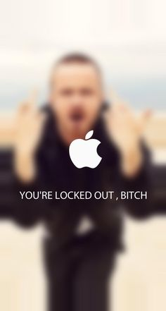 Breaking Bad lock screen. I love Jesse Pinkman