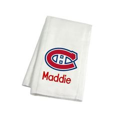 Our officially licensed personalized montreal canadiens bib and keep your baby and future nhl star neat and clean with our officially licensed personalized montreal negle Images