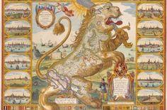 Los Leo Belgicus, cuando en 1648 la Paz de Westfalia puso fin a la Guerra de los Ochenta Años con el reconocimiento de las Provincias Unidas de los Países Bajos separadas de los Países Bajos españoles, el león fue dibujado de nuevo y recibió el nombre de Leo Hollandicus.