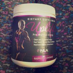 Uplift Pre-Workout for Her Raspberry Lemonade. Has 35/40 servings left. Nike Other
