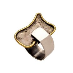 greek ring greek jewelry abstract shape black oxidized silver made in Greece jewelry