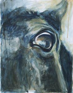 """Saatchi Online Artist Benedicte Gele; Painting, """"Horse Look 28"""" #art"""