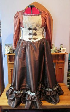 Steampunk Wedding: With Corset