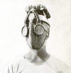 """New United States Navy Gas Masks Are Independent Units."" Popular Mechanics. 35 (May 1921)"