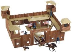 Found on Bing from bestwildwestfiguresplaysets.blogspot.com Forte Apache, Fort Western, Kids Clubhouse, Britains Toys, Rodeo Birthday, Small Soldiers, Plastic Toy Soldiers, Oragami, Army Men