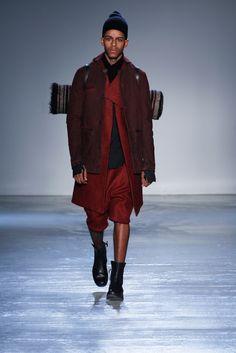 Boris Bidjan Saberi Fall 2015 Menswear Fashion Show