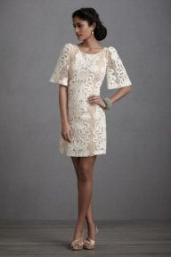 Persephone Shift from BHLDN | love those sleeves