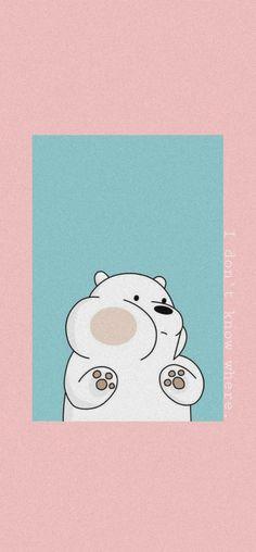 Cute Panda Wallpaper, Cute Pastel Wallpaper, Bear Wallpaper, Cute Disney Wallpaper, Aesthetic Pastel Wallpaper, We Bare Bears Wallpapers, Panda Wallpapers, Cute Cartoon Wallpapers, Iphone Lockscreen Wallpaper