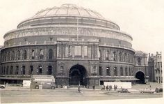 A dirty old Royal Albert Hall, London, 7 June 1954.
