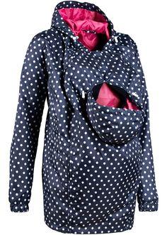 Jetzt anschauen: Schöne Outdoor-Jacke für die Schwangerschaft. Mit Tunnelzug an…