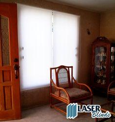 persiana enrollable blanca traslucida decor decoracion hogar cortinas persianas