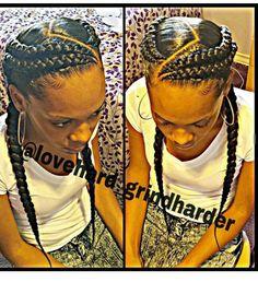 French braids on Fleek!