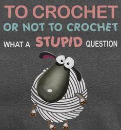 Knitting Quotes, Knitting Humor, Crochet Humor, Funny Crochet, Crochet Wool, Crochet Yarn, Yarn Crafts, Sewing Crafts, Yarn Storage