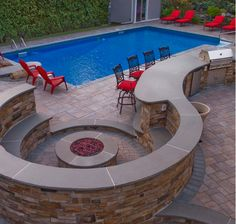 Dreaming of sitting around a fire pit chatting with friends? A Cambridge Fire Pit is the perfect outdoor accessory you need. Installation: Exclusive Stoneworks
