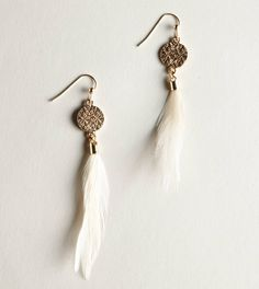 Feather earings can't get enough!