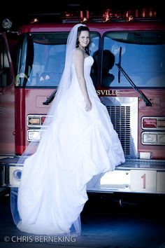 Firefighter wedding pictures this is for you @Jenelle Marie
