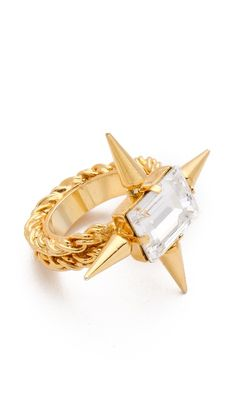 Fallon Jewelry Classique Spike Ring