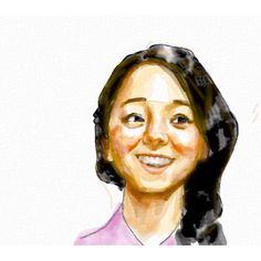 Ehoto Yun creates lovely portraits on iPad using Auryn Ink...