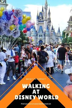 Start training now! You can easily walk ten miles or more every day of a theme park vacation. This post includes park maps and walking distances to the most popular attractions in each Disney World park, plus Universal Orlando. And tips to help you start walking in your own neighborhood, including a free printable bingo card. Disney World Parks, Walt Disney World Vacations, Disney Trips, Universal Studios Florida, Universal Orlando, Orlando Theme Parks, Orlando Vacation, Disney Planning, Disney World Tips And Tricks