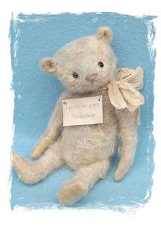 Vintage style collectible teddy bear, hand made by Susanne Tauber, Die aus dem…