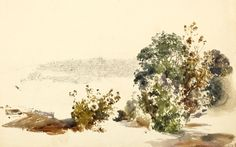 Rudolph von Alt (1812 Vienna 1905), Studies for a view of Prague, black crayon and water color, 1849, 26,5 x36,2 cm. Est: CHF 12 000 – 15 000. Photo Koller.