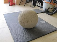 I wanted an Atlas Stone, but I didn't want to pay for a mold. Why should I have to pay $80+ dollars to make balls of concrete? After several...