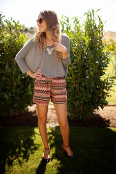 Dressed Up Shorts - Twenties Girl Style