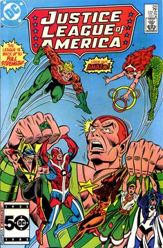 Justice League OF America #243, October 1985, Pencils: Chuck Patton, Inks: Mike Machlan