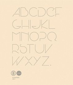 Seaside Font by pablo MORENO, via Behance