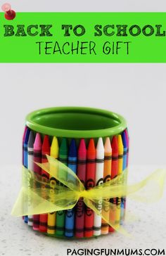 Back To School Teacher Gift -
