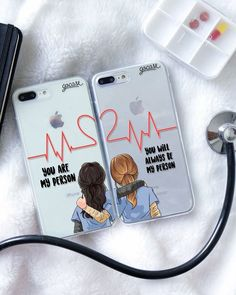Audrey and I need these - - Handyhülle - Celulares e Acessórios Bff Cases, Cute Cases, Cute Phone Cases, Iphone Phone Cases, Bff Gifts, Best Friend Gifts, Best Friends, Best Friend Cases, Friends Phone Case