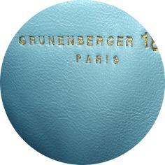 Blue by Grunenberger 1854