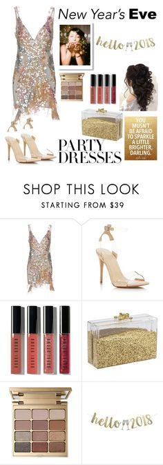 """2018 Happy New Year"" by audreybrookezaring ❤ liked on Polyvore featuring Amen, Kendall + Kylie, Bobbi Brown Cosmetics and Stila"