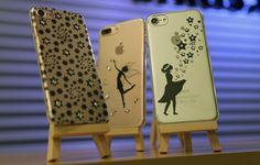 Die Impressly Winterkollektion 2016/17 ist da für Apple iPhone und Samsung Galaxy. Luxus Hüllen mit echten Swarovski Sternchen von Hand veredelt.