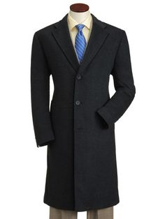 Hart Schaffner Marx Cashmere Shelby Topcoat, $500. for my husband