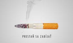Anti-fajčiarska kampaň #nosmoking #cigareta #smoking