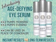 Nerium's newest product! Immediate and long lasting results!  Lmhodges77.nerium.com