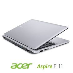 Acer Aspire E3-111-P8DW 11.6-Inch Laptop (Cool Silver) - http://smalllaptops.ellprint.com/acer-aspire-e3-111-p8dw-11-6-inch-laptop-cool-silver/