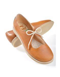 Kavat 'Solveig', nature brown - Strap Shoes - Deerberg