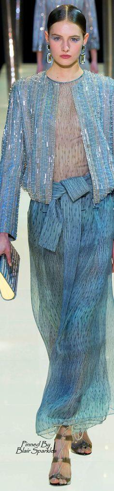 Spring 2015 Couture Armani Privé  ♕♚εїз   BLAIR SPARKLES