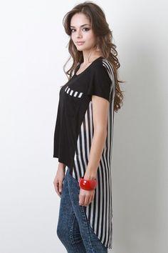 Enchanting Stripes Top  #UrbanOG #contest