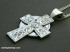 Large Men's Celtic Cross and Small Women's Celtic Cross made by hand in our workshop. Available worldwide through on our Claddagh Design website Irish Jewelry, Irish Celtic, Claddagh, Cross Pendant, Precious Metals, Celtic Crosses, Workshop, Handmade Jewelry, Online Blog