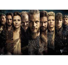 Vikings Poster Grid Charaktere Hier bei www.closeup.de