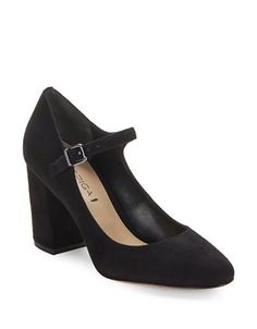 Via Spiga Deanna Suede High Heels Women's Black 7.5M