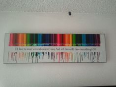 Melted Crayon Art in DIY Projects